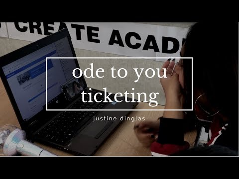 GETTING BARRICADE TICKETS FOR ODE TO YOU | My First Ticketmaster Experience!