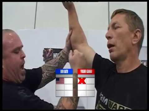 Arm Wars | Armwrestling | Ron Bath USA V Yoshi Kanai JAPAN