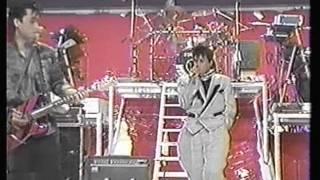 1986年 織田さんとマッチの共演です.