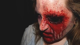 How To: Fresh Zombie With Gouged Out Eye Halloween SFX Makeup
