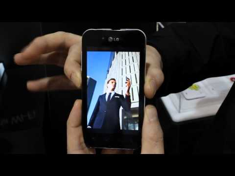 LG Optimus Black UI demo