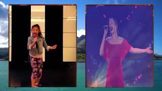 """Video Angelica Hale and Loren  Allred  """"Never Enough"""" Original v. Version download MP3, 3GP, MP4, WEBM, AVI, FLV Agustus 2018"""
