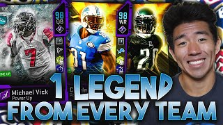 ONE RETIRED PLAYER FROM EVERY TEAM! MICHAEL VICK, MEGATRON! Madden 20 Ultimate Team