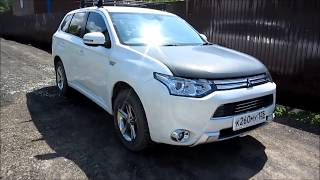 Mitsubishi Outlander PHEV идеальный автомобиль?
