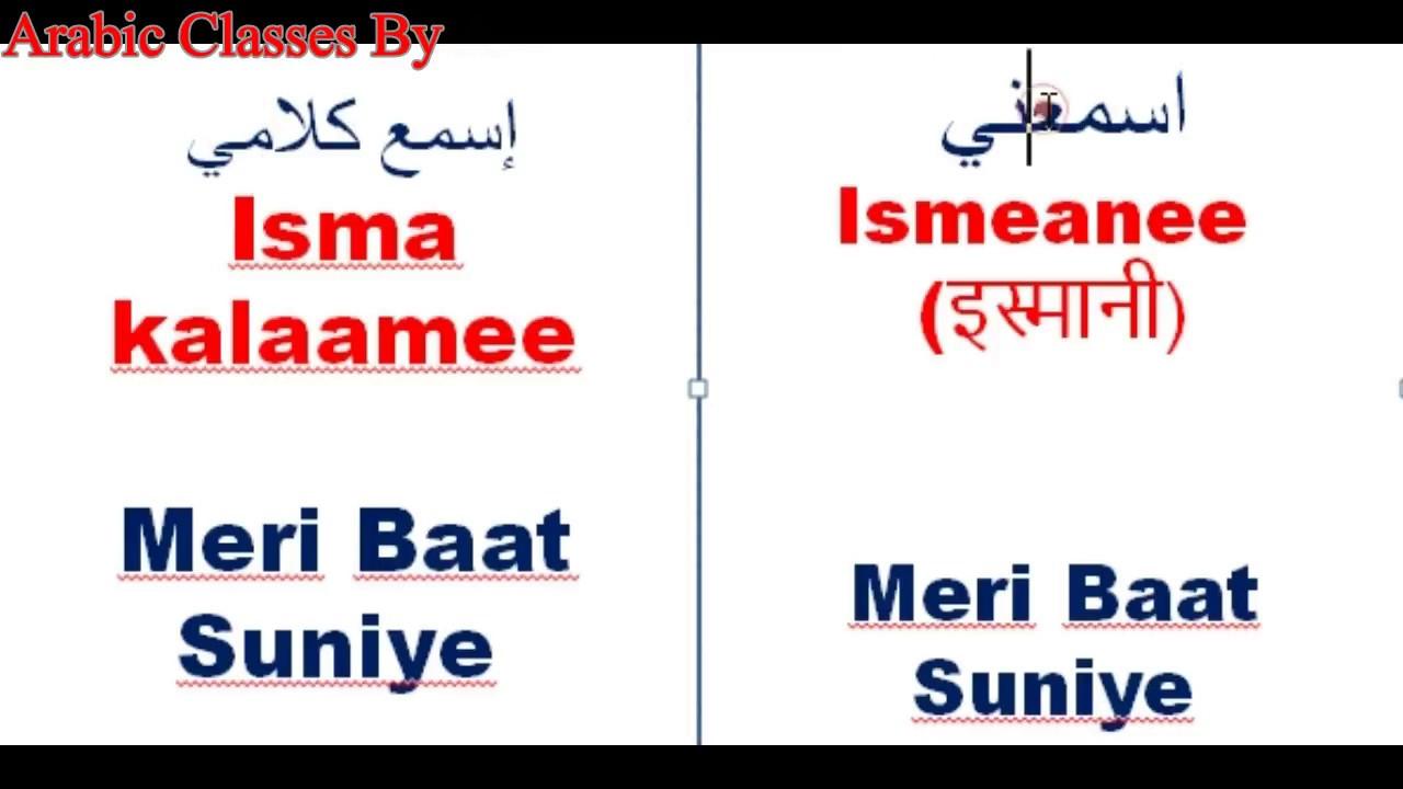 Spoken Arabic 38 How To Say Welcomelisten To Megoingtimeagain