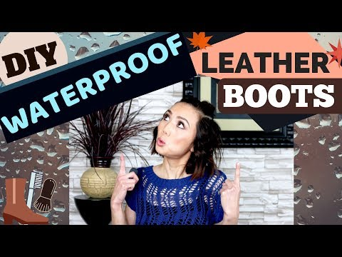 How to Clean & Waterproof Leather and Suede Boots