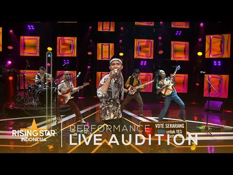 Tongkat Kayu 'Bujangan' | Live Audition 4 | Rising Star Indonesia 2019