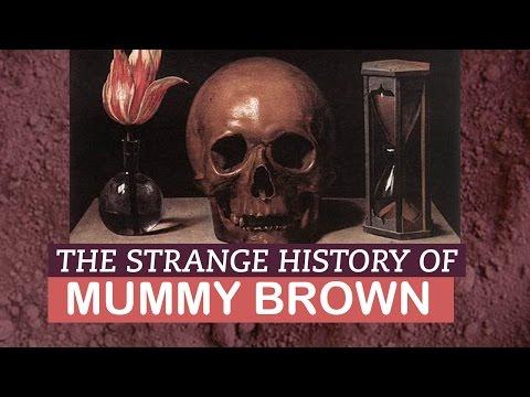 Strange History of Mummy Brown | LittleArtTalks