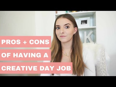 Pros + Cons Of Having A Creative Day Job | Working At An Advertising Agency