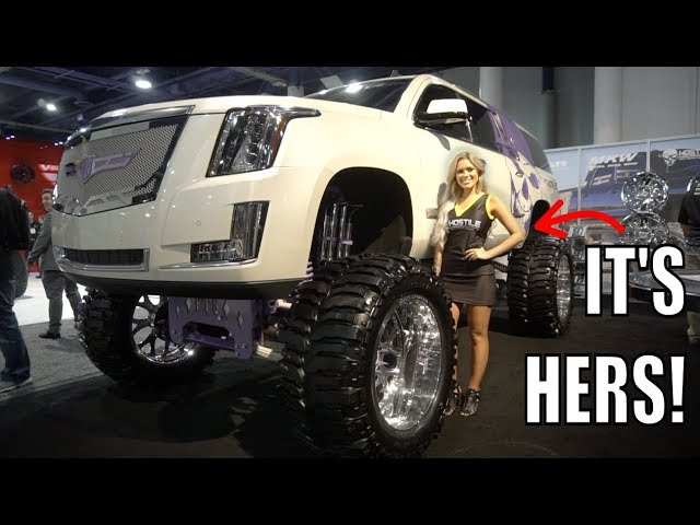 she-put-mud-boggers-on-her-escalade
