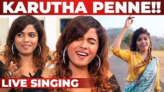 """She's Vera Level Bro"" Karutha Penne Song LIVE Singing 