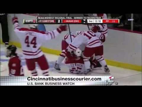 Cincinnati Hosting 2016 NCAA Hockey Tourney, Redsfest Attendance - US Bank Business Watch - 12/15/13