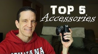 Top 5 Accessories to Consider After Getting a DSLR (Nikon, Canon, Sony, etc.)