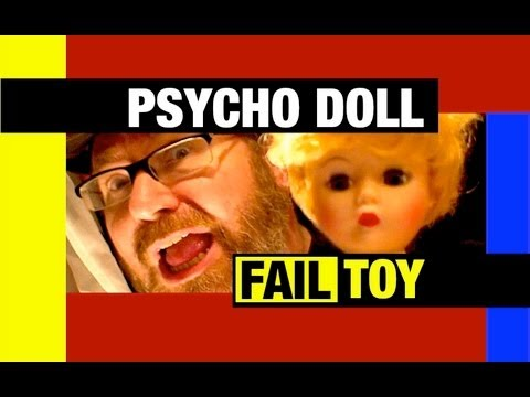 Halloween FUNNY Psycho Madame Alexander Doll Fail Toy Review 2011 Mike Mozart JeepersMedia