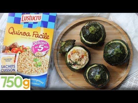 recette-de-courgettes-rondes-farcies-au-quinoa---750g-{-express-}
