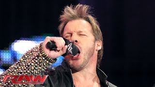 Chris Jericho interrupts The New Day: Raw, January 4, 2016