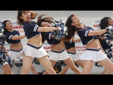 Cheerleading チア 🏈 Xリーグチアリーダーズ⑥ アサヒビールシルバースター 2016秋 🏈