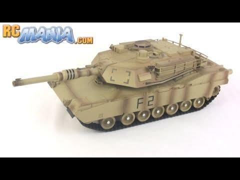 RC M1A2 Abrams Tank By XQ Toys