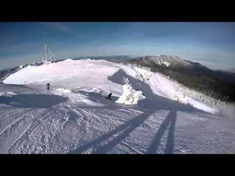 Skiing Mt. Ashland, OR