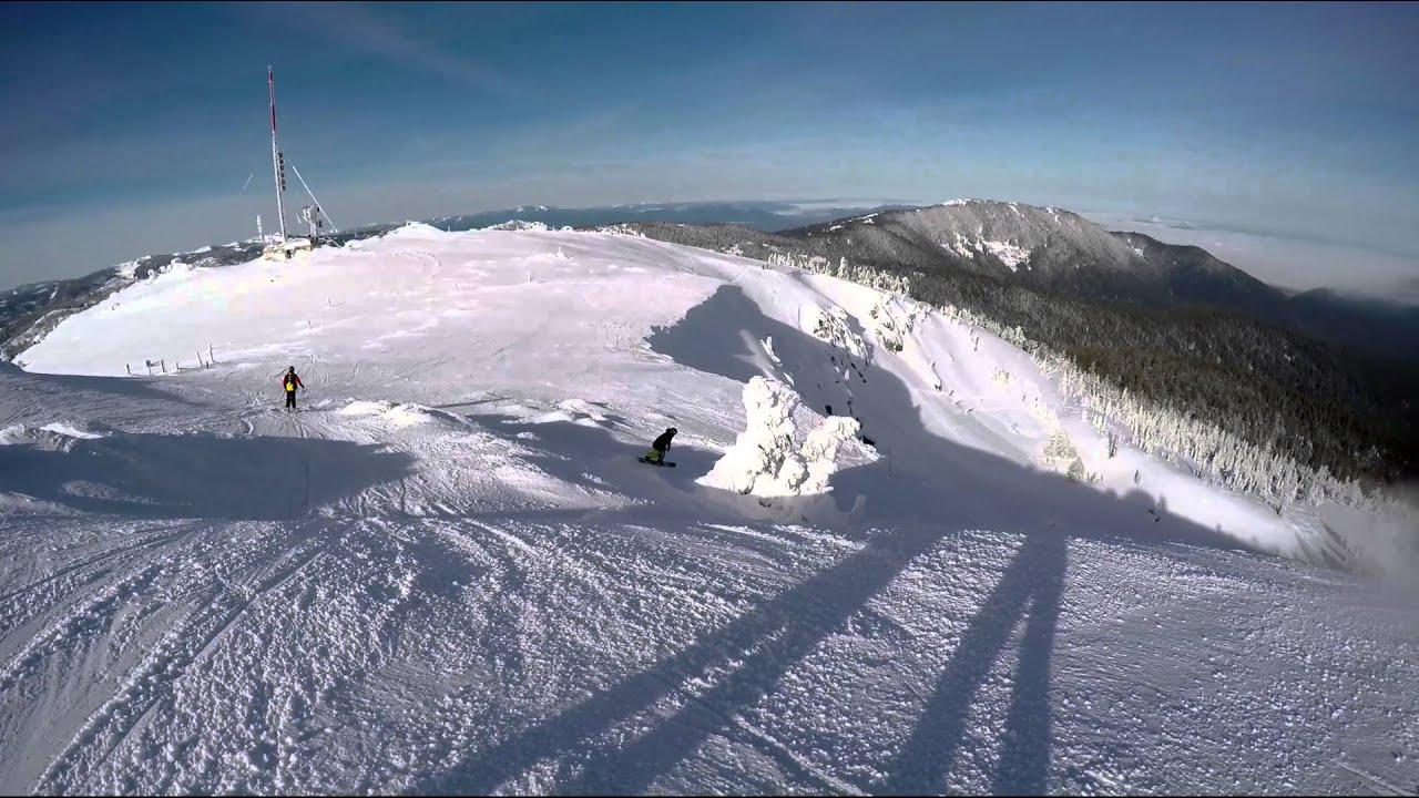 skiing mt. ashland, or - youtube