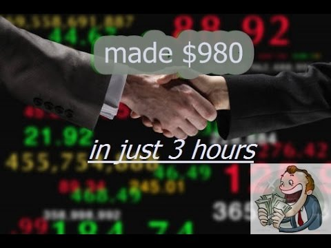 Live Trade!! $980 in two hrs trading penny stocks | Robinhood |
