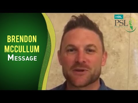 Brendon McCullum can't wait for the HBL PSL to kick off