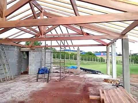 telhado aparente 4 guas 2 youtube