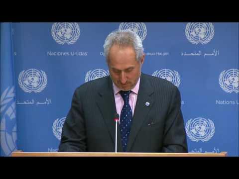 "On Burundi, ICP Asks UN 3d Time If Nduwumusi In AMISOM, Ban Ki-moon Spox Dujarric ""Will Try"" Again"