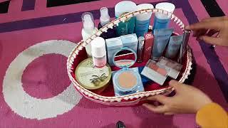 Cara membuat hantaran make up WARDAH