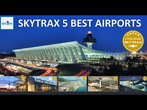 Top 5 Best Airports In The World 2017 | Skytrax Survey ✔