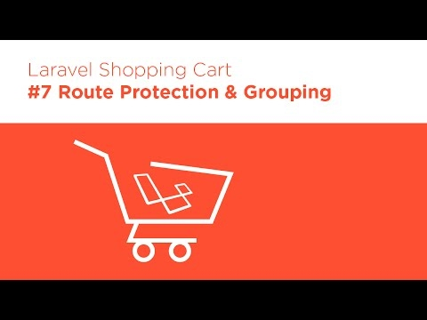 [Programming Tutorials] Laravel 5.2 PHP - Build a Shopping Cart - #7 Middleware & Route Protection