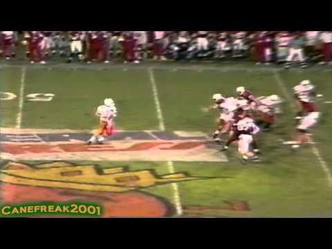 1992 Orange Bowl: Miami Hurricanes vs Nebraska Cornhuskers Highlights