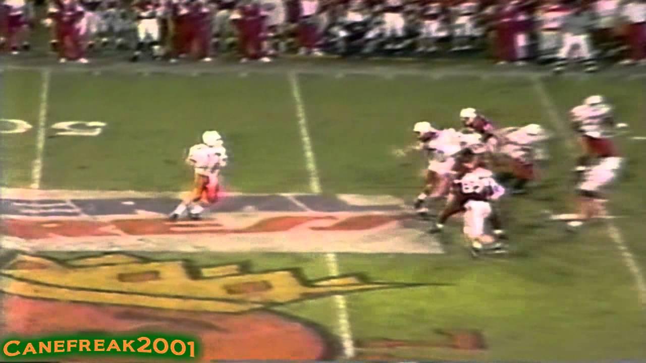 1992 Orange Bowl: Miami Hurricanes vs Nebraska Cornhuskers Highlights - YouTube