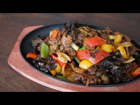 Homemade Sizzling Beef Like At The Chinese Restaurant - Morgane Recipes