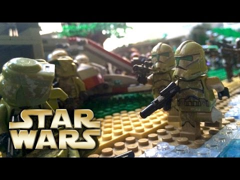 LEGO Star Wars: Republic Defence Base on Kashyyyk MOC!