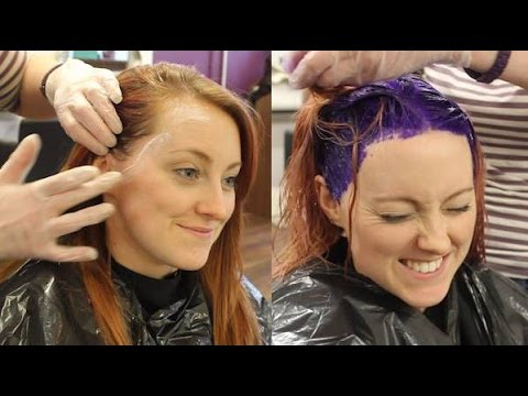I dyed my hair purple for charity  | Irish Bucket List