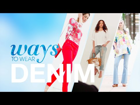 HSN | Ways to Wear Denim | The Fashion Edit | Spring Issue 2016. http://bit.ly/2XYaD9u