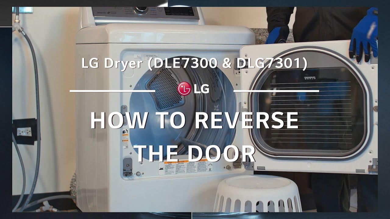 Lg Easyload Dryer Door Reversal Youtube