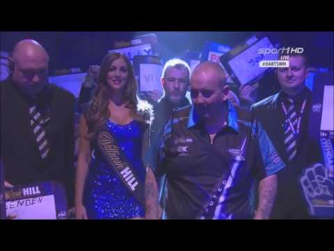 Phil Taylor WC 2016 Walk On