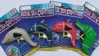 ของเล่นปืนฉีดนํ้ารูปสัตว์นํ้า Aqua Sea Creatures