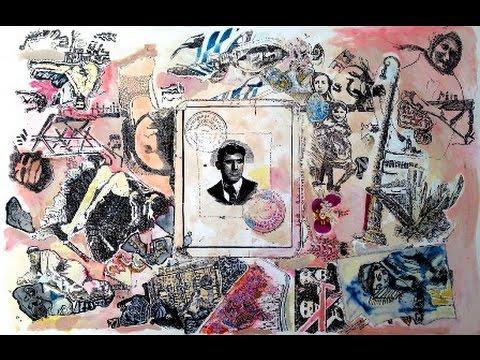Holocaust art: Claustrophobia in Warsaw Ghetto / art  © A.K Segan