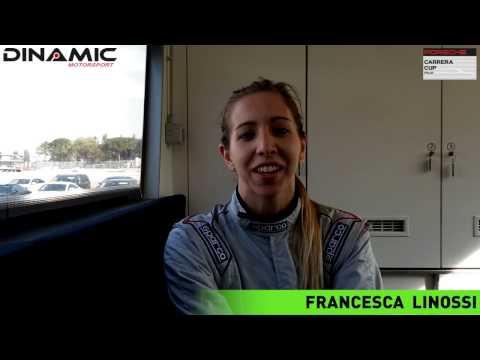 Francesca Linossi: la prima lady al via della Porsche Carrera Cup Italia