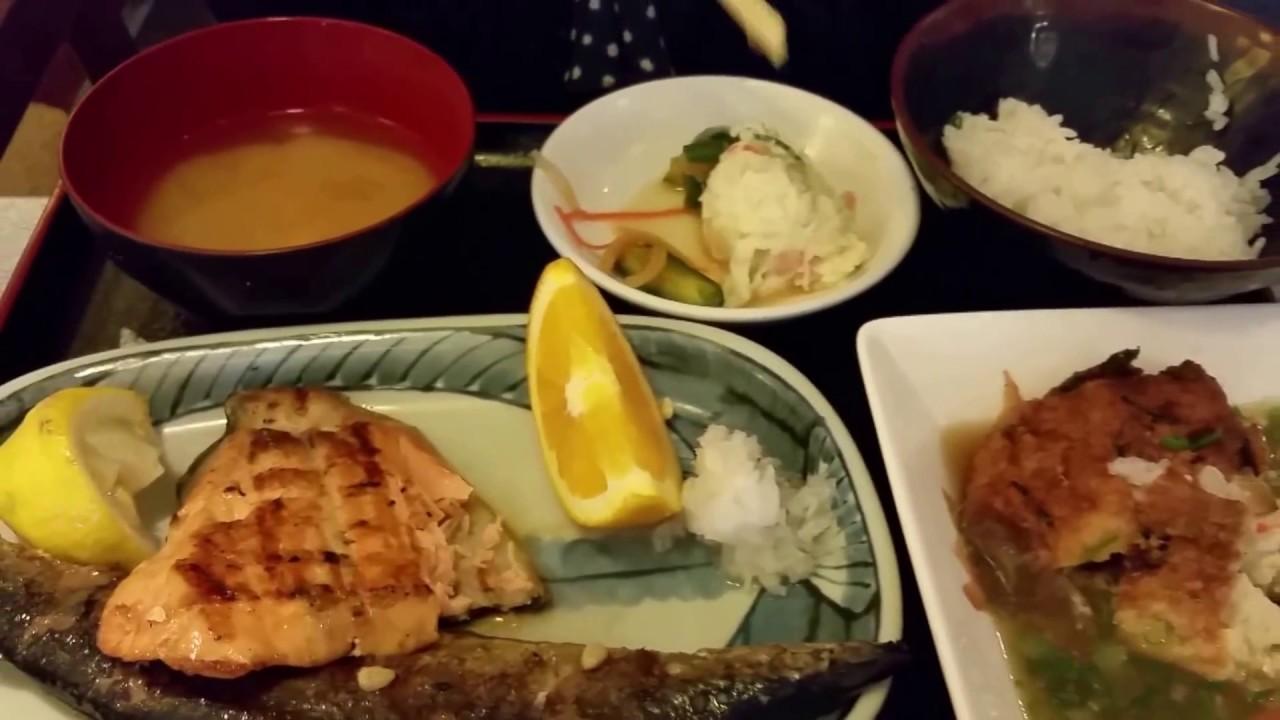 San Jose Japantown Gombei Japanese Restaurant Youtube