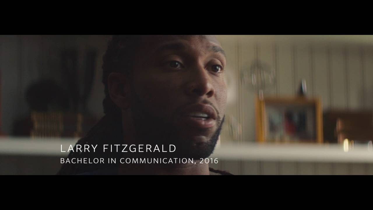 Larry Fitzgerald Sr. – Alumnus Larry Fitzgerald – University of Phoenix