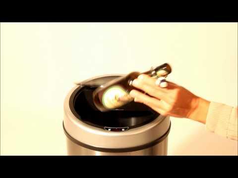 tectake---automatic-sensor-dustbin,-sensorabfalleimer,-sensor-trash-can,-garbage-can