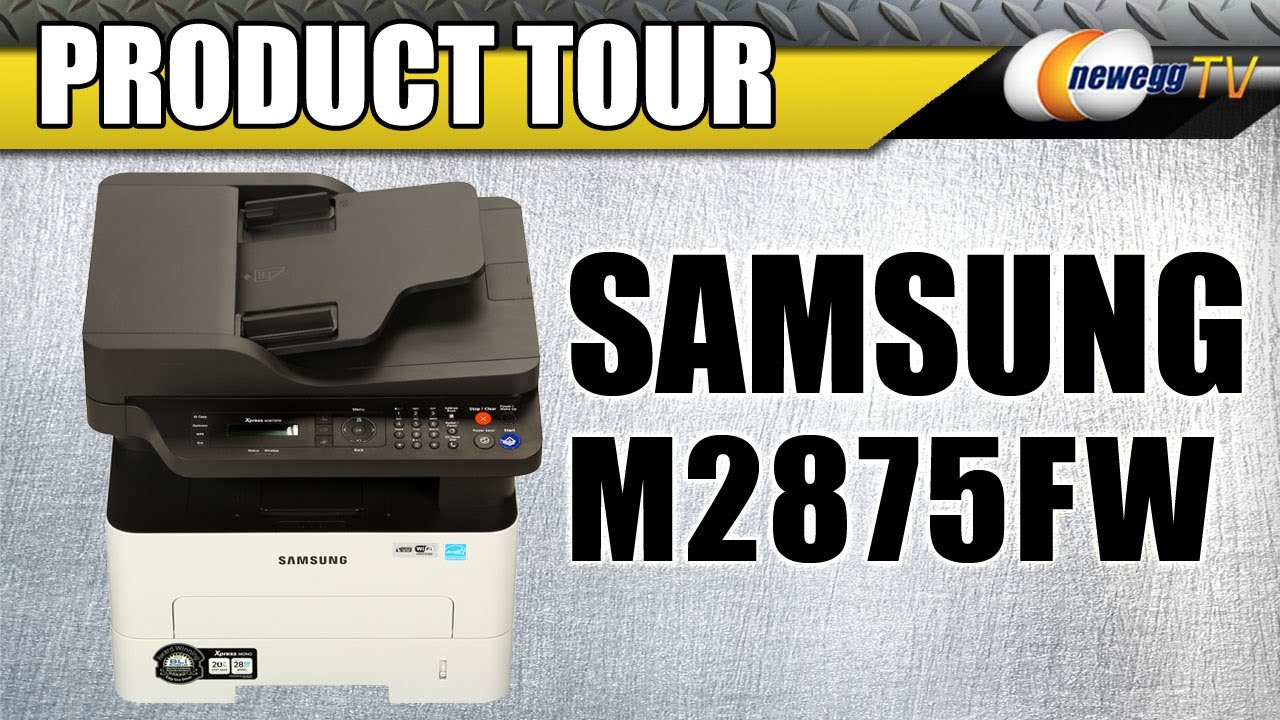 Samsung Xpress M2875FW MFP (Add Printer) Drivers for Windows 10