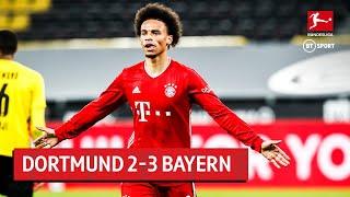 Borussia Dortmund vs Bayern Munich (2-3) | Bundesliga Highlights