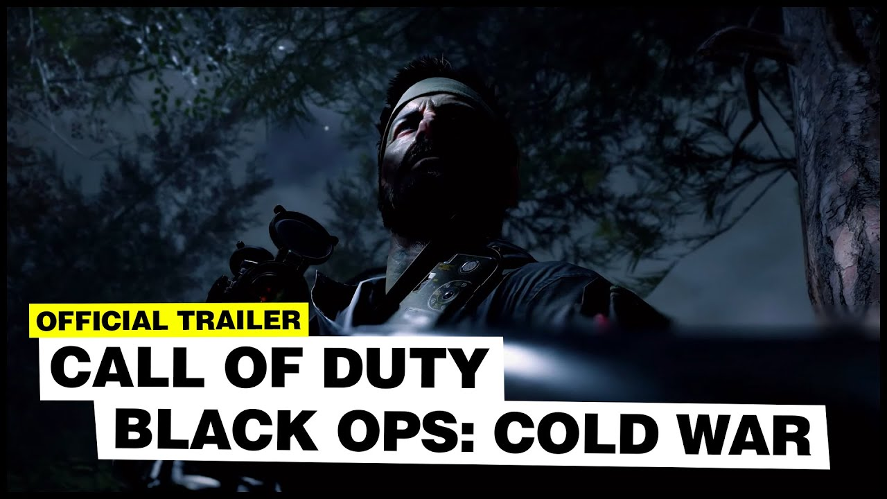 Cod Black Ops Cold War Official Reveal Trailer Youtube