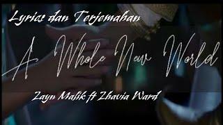 Lyrics dan Artinya A Whole New World Zayn Malik ft Zhavia Ward