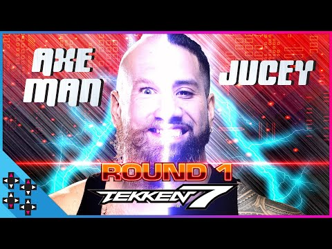 TEKKEN 7 TOURNAMENT: ALEXANDER WOLFE vs. JEY USO - ROUND 1